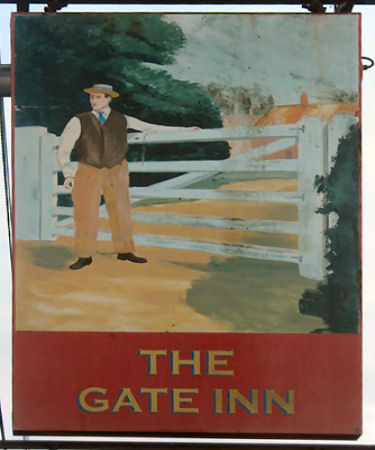 Gate Inn sign 2010