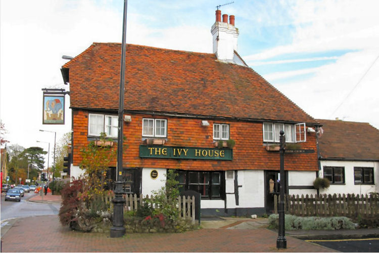 Ivy house pub of tonbridge for The ivy house