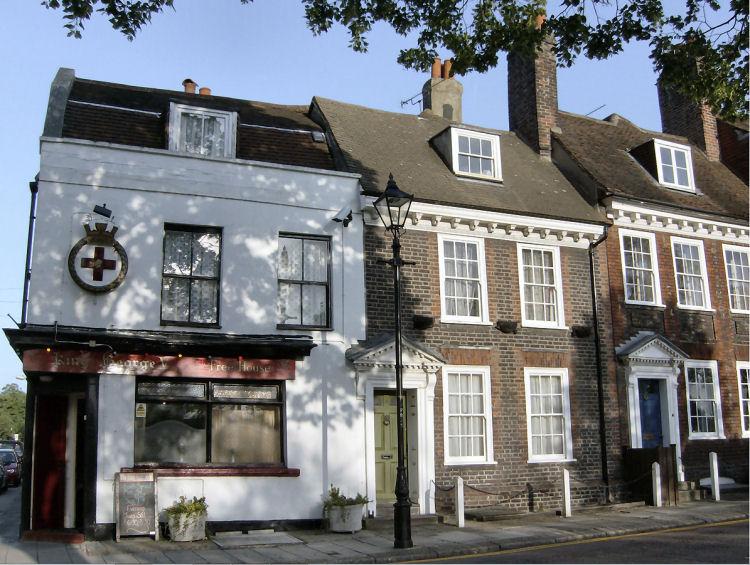 king george v pub of brompton. Black Bedroom Furniture Sets. Home Design Ideas