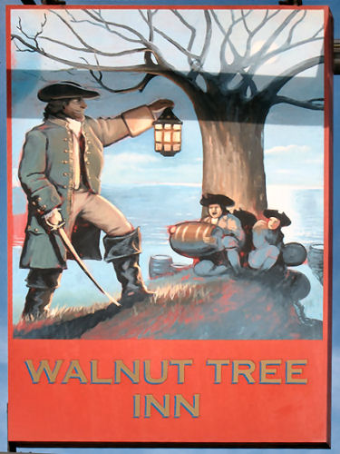 Walnut Tree sign 2011