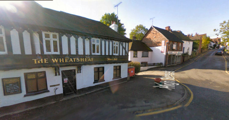 Wheatsheaf in Oxsted, Surry