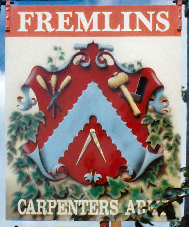 Carpenter's Arms sign 1992