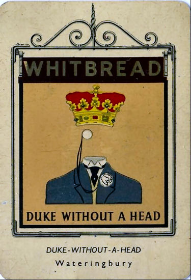 Duke without a Head card
