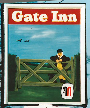 Gate Inn sign 1981