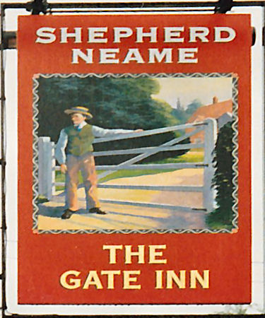Gate Inn sign 1992