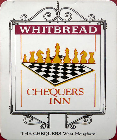 Chequers Inn card front