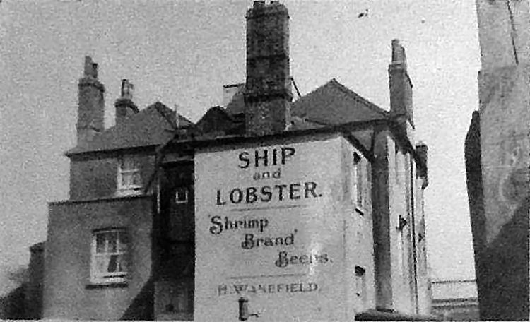 SHIP AND LOBSTER Pub of Gravesend