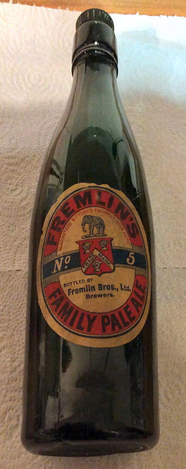Fremlins No 5 Pale Ale bottle