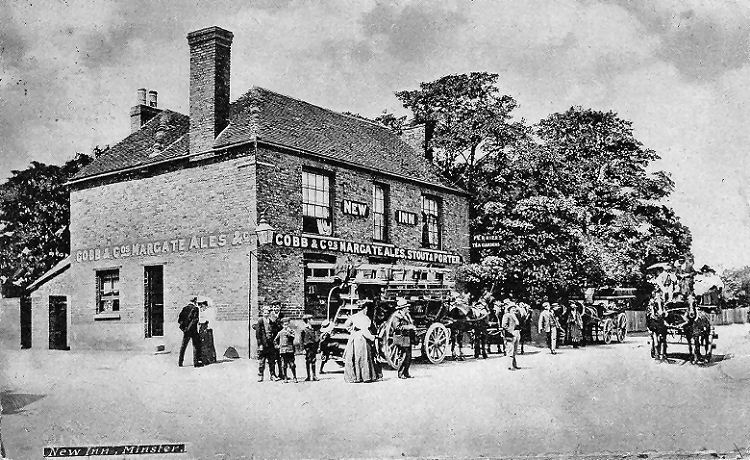 New Inn postcard 1910