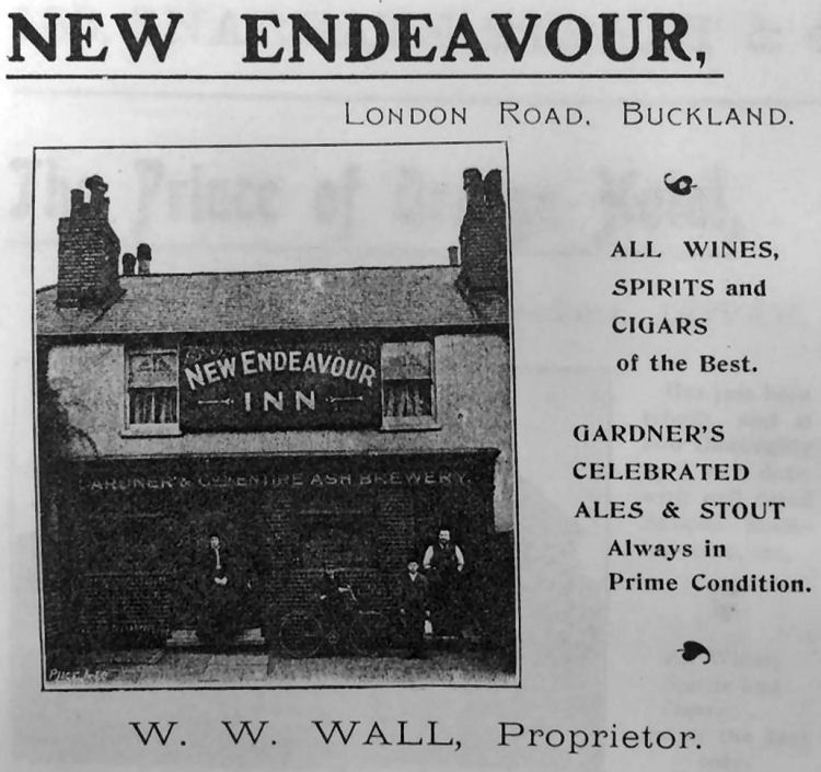 New Endeavour advert 1900