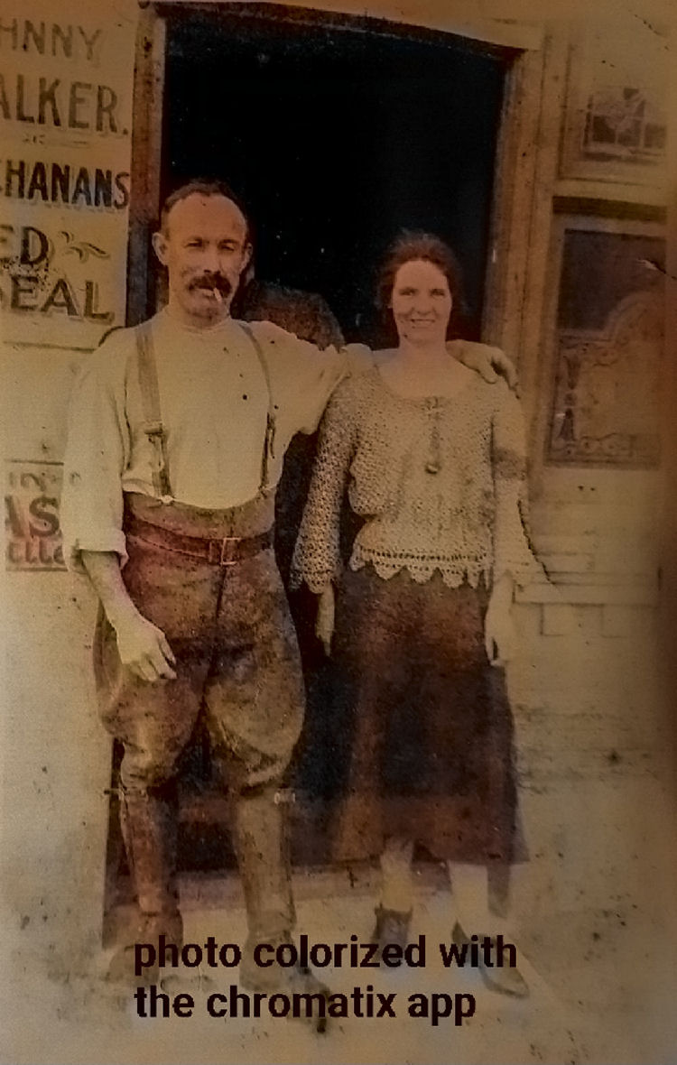 Harry & Blanche Goodsell 1900