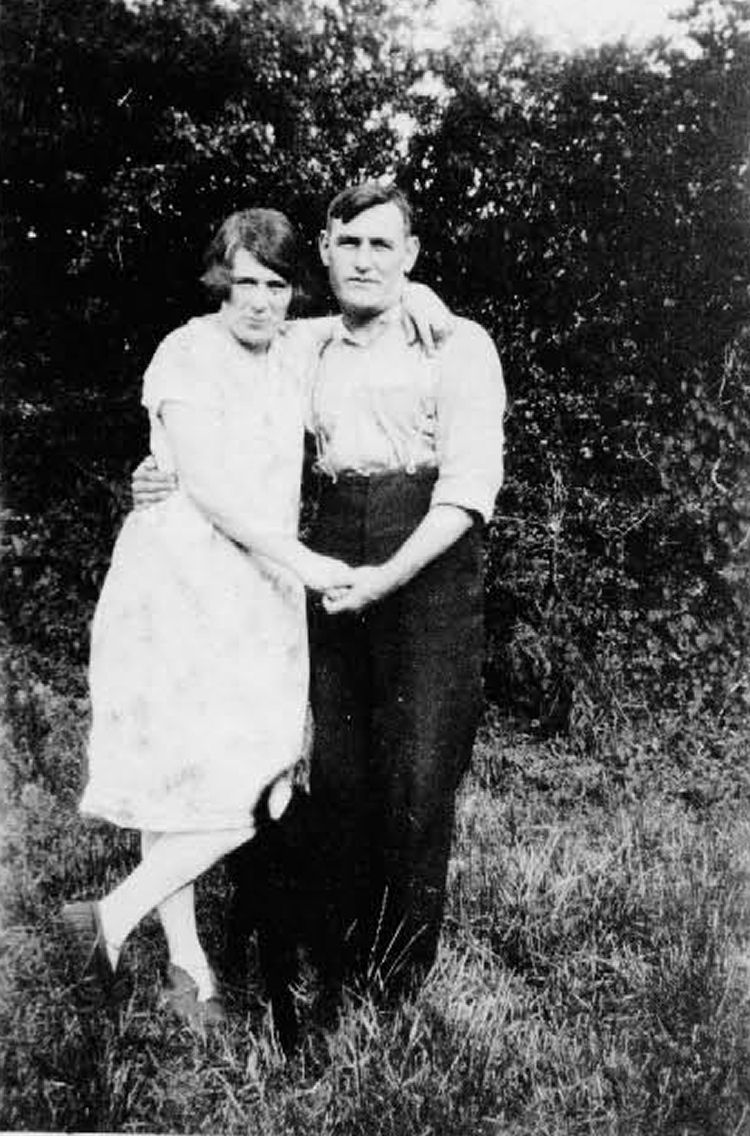 Florence and Alf Lewis