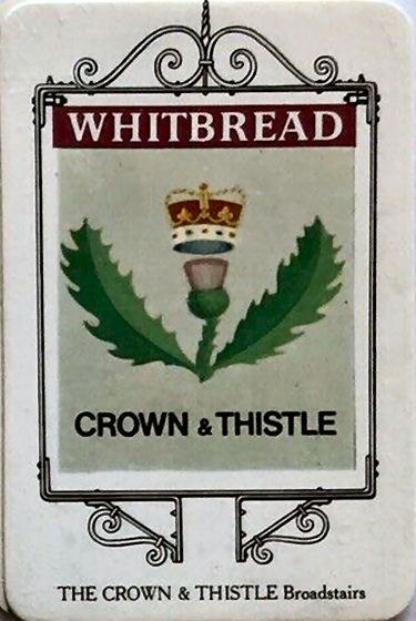 Crown and Thistle card