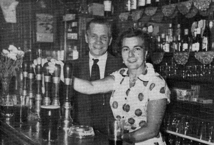 Crown and Thistle licensees 1954