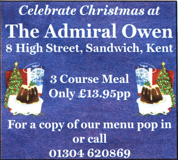 Admiral Owen advert 2007