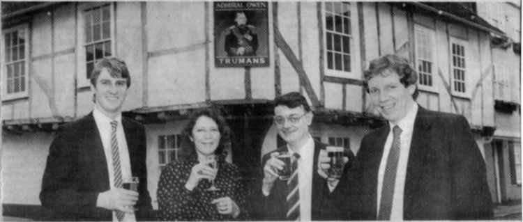 Admiral Owen licensees 1987