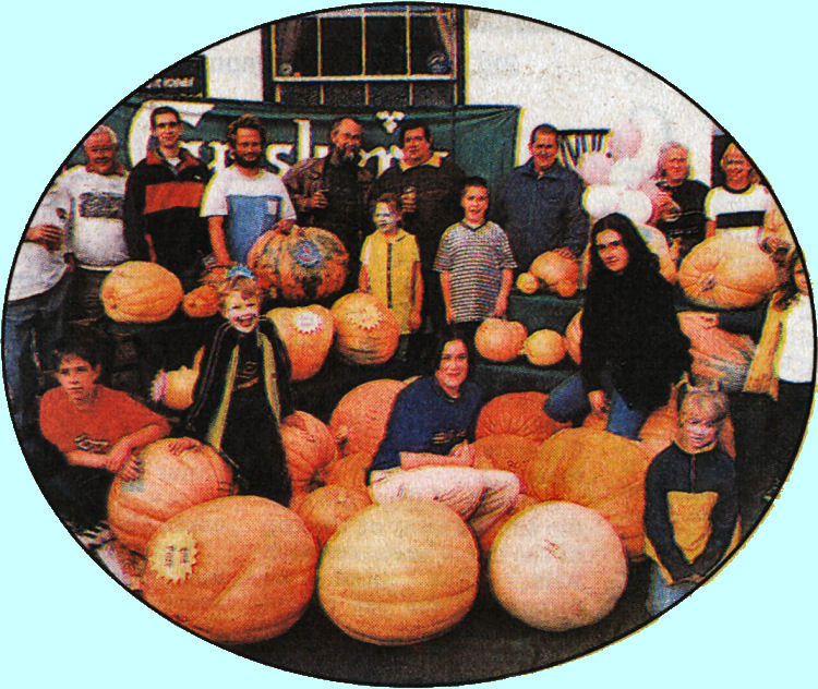 Pumpkins at Blue Pigeons 1999
