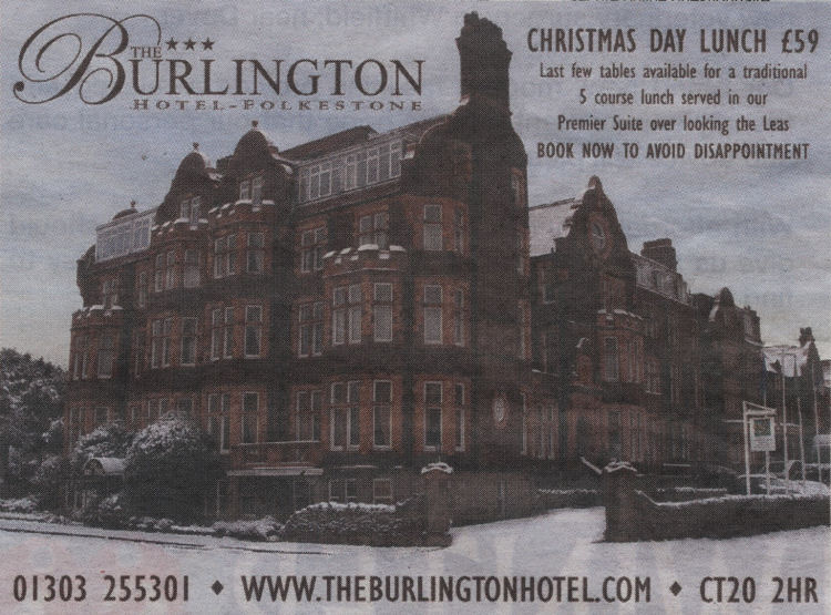 Burlington Advert 2010