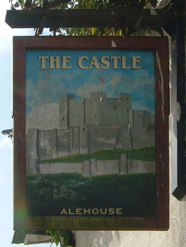 Castle Inn sign 2009