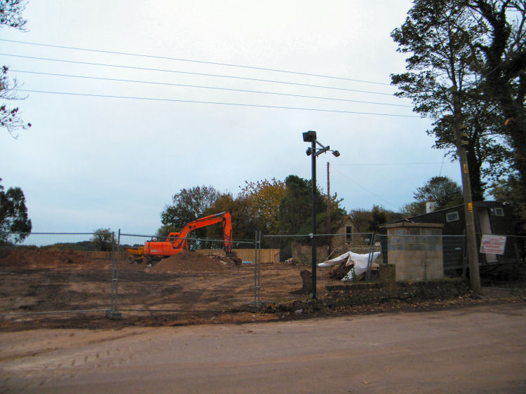 Demolished Chequers 2010