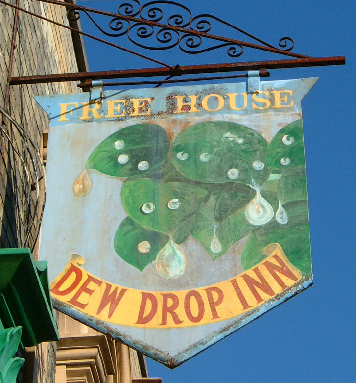 Dewdrop sign 2007