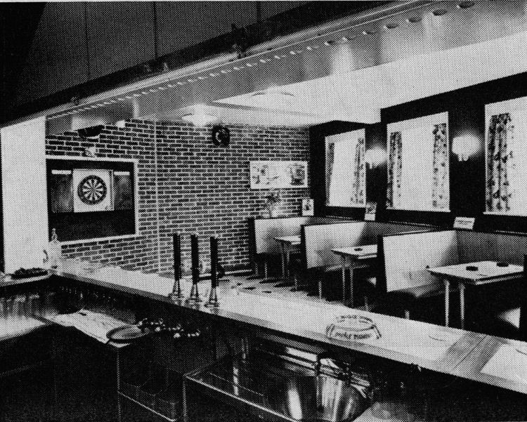 Dover Tavern Bar Area 1959