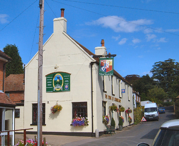 Duke of Cumberland at Barham