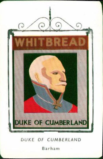 Duke of Cumberland Inn Sign