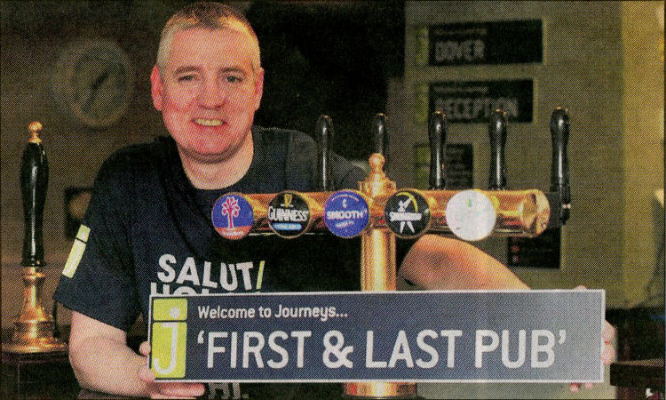 First and Last licensee, Danny McGhee