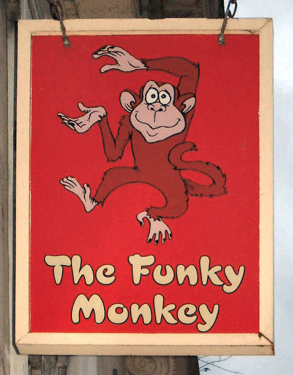 Funky Monkey sign