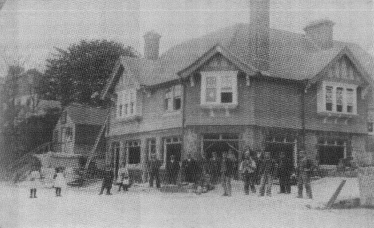 New building of the George and Dragon date unknown