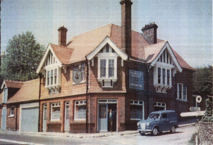 George and Dragon circa 1970