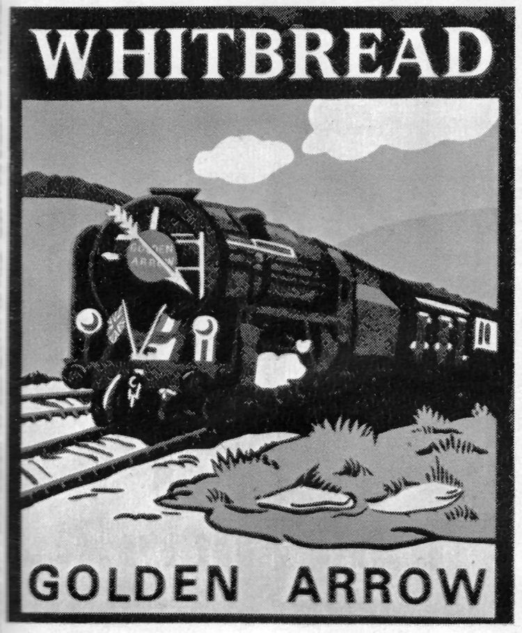 Golden Arrow sign 1962