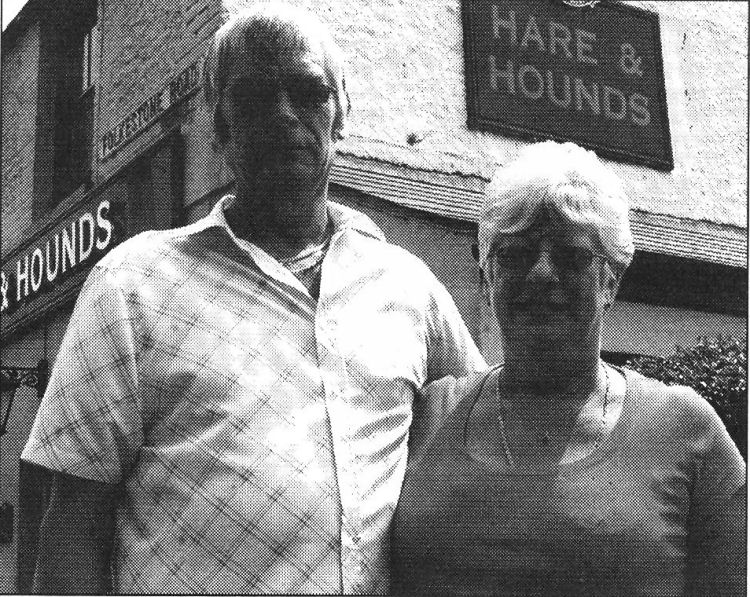 Hare and Hounds landlord and lady