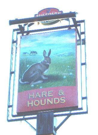 Hare and Hounds Sign 2007