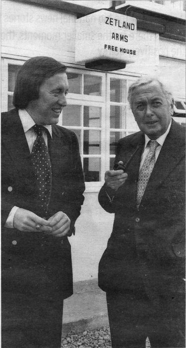 David Frost and Harold Wilson