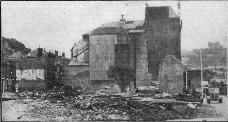 Hippodrome demolition 1950