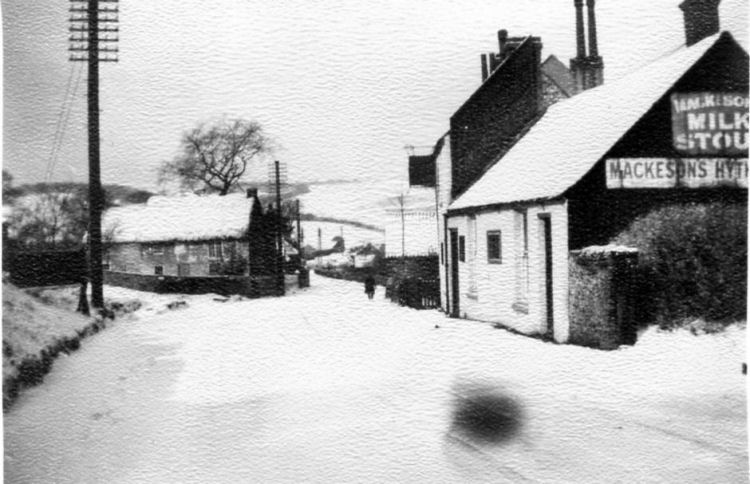 Hope Inn, in snow date unknown
