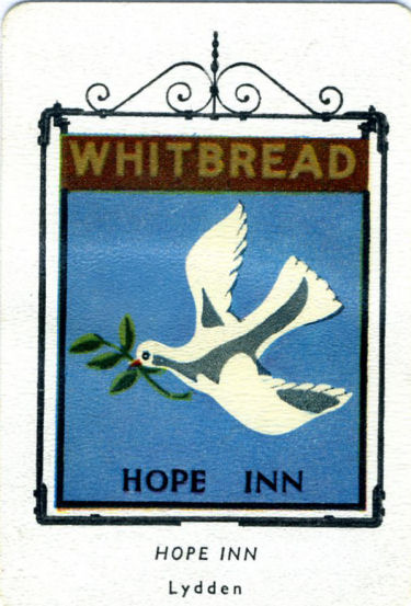 Whitbread Inn Sign Hope Inn