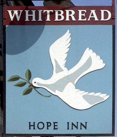 Hope Inn sign 1970