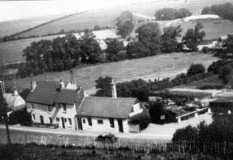 Hope Inn from hill, June 1930