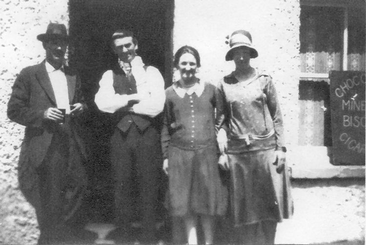 Hope Lydden, Thomas and Ethel Solley 1930's