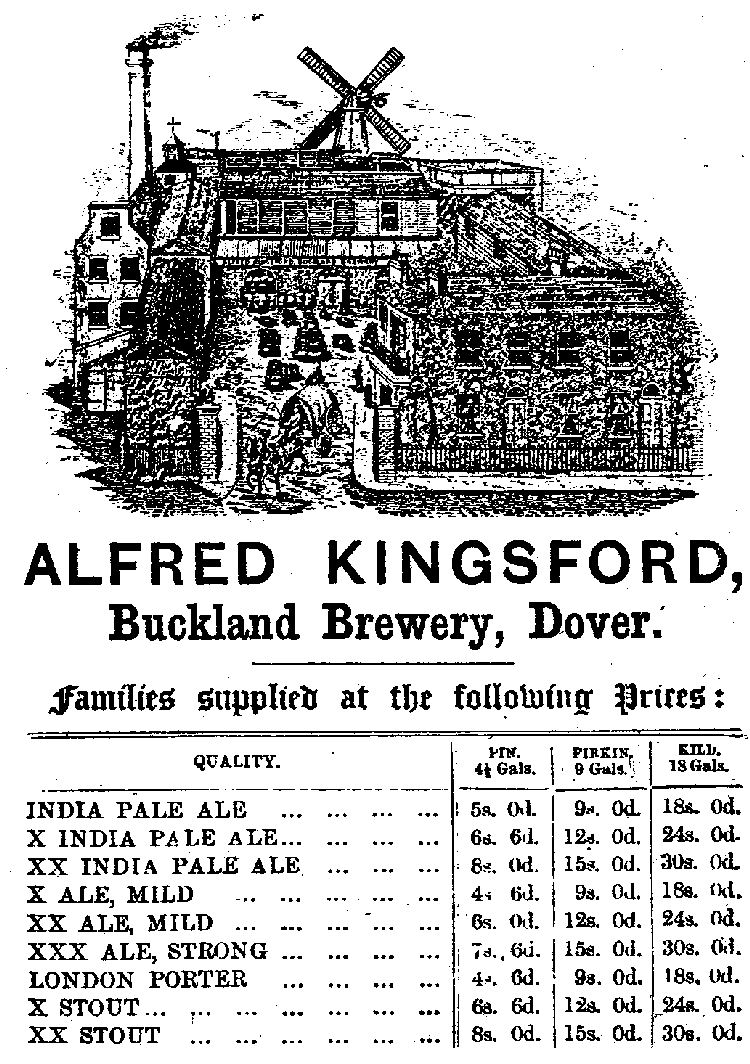 Kingsford Brewery Advert