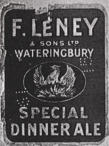 Fred Leney's Special Dinner Ale Label