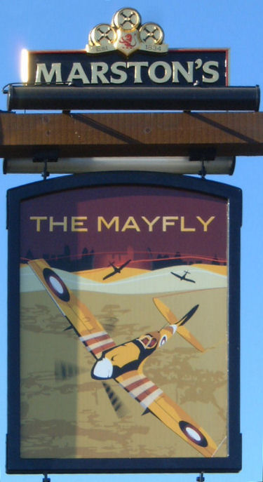 Mayfly sign Sept 2007