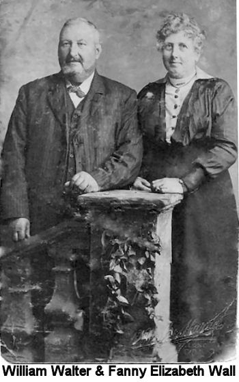 William Walter & Fanny Elizabeth Wall