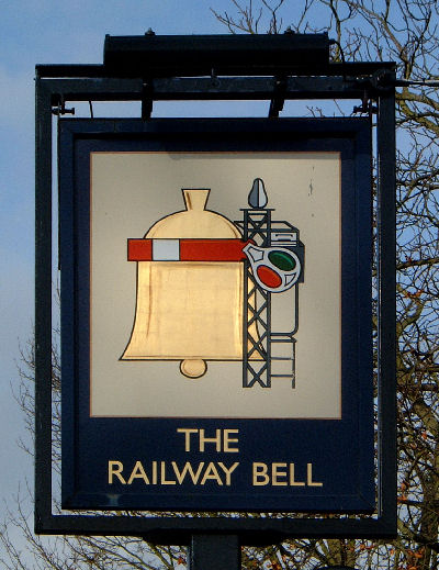 Railway Bell Sign 2007