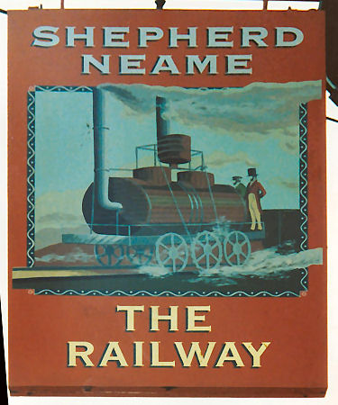 Railway sign 1992