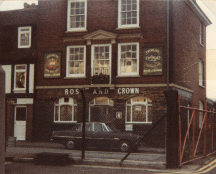 Rose and Crown Pier District circa 1980