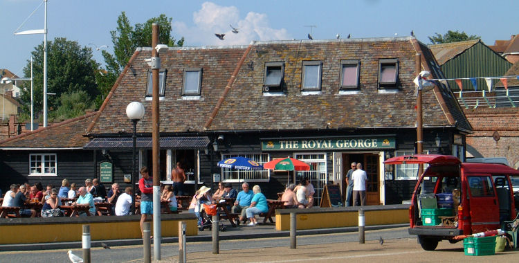 Royal George, Folkestone 2009